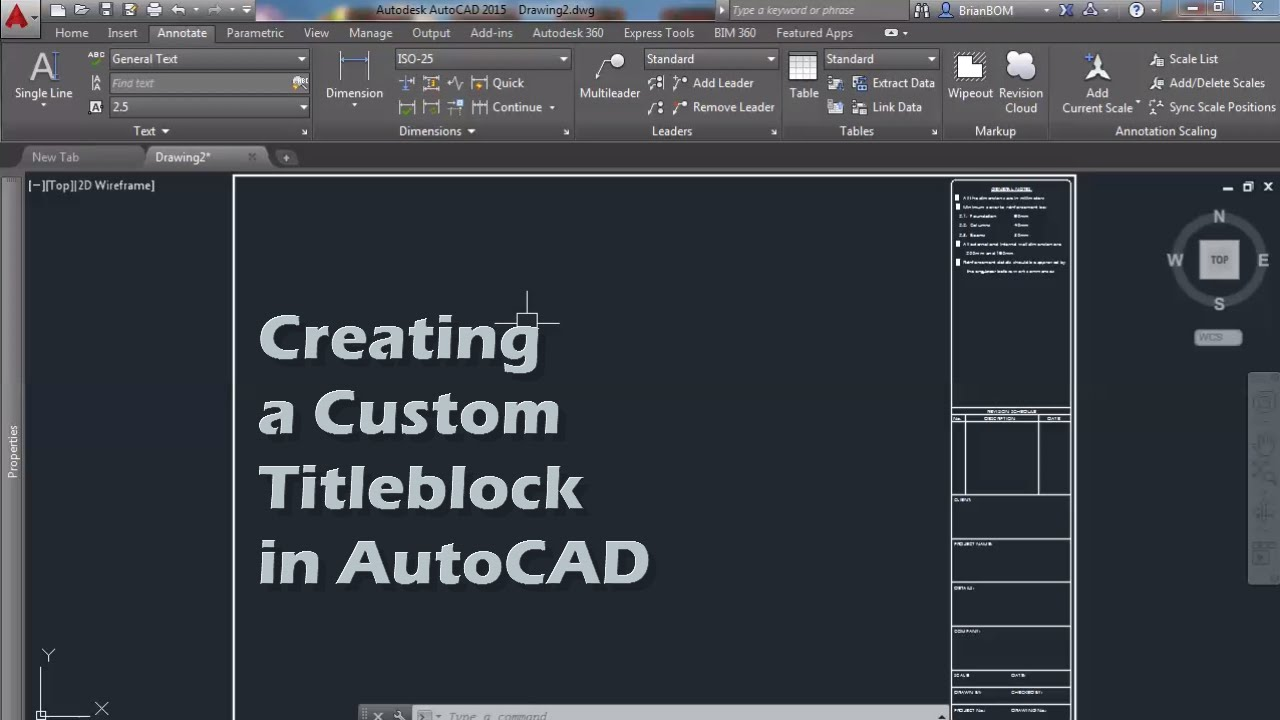 How to add custom paper size in autocad