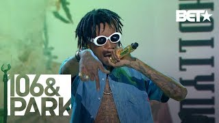 106 and Park Presents : Wiz Khalifa performing