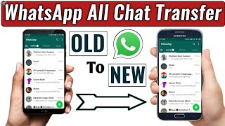 Transfer Whatsapp Messages From old Android to new Android Phone | How to move WhatsApp to new Phone
