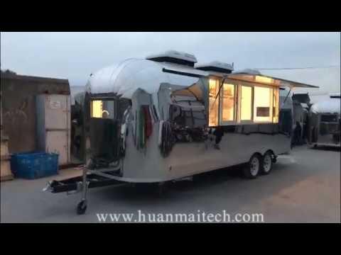 Vintage Food Truck Trailer