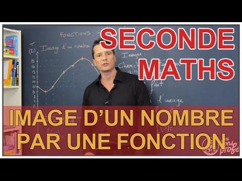 Image d'un nombre par une fonction - Maths seconde - Les Bons Profs