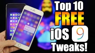 Top 10 BRAND NEW FREE iOS 9 Cydia Tweaks - Part 2!