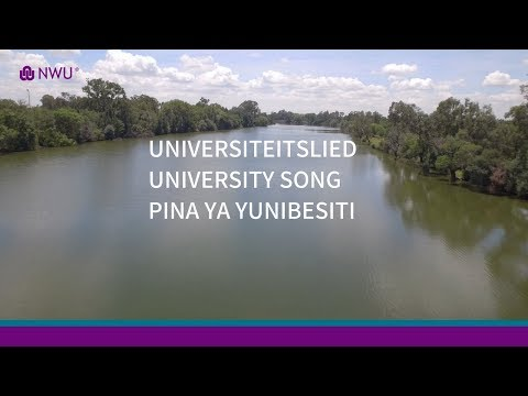 UNIVERSITEITSLIED |  UNIVERSITY SONG | PINA YA YUNIBESITI