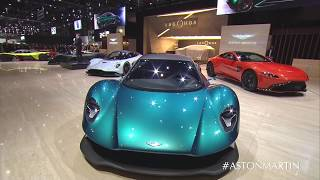 Aston Martin Lagonda live from Geneva Motor Show 2019 with Mr JWW and Maya Jama
