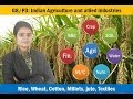 G8/P3: Indian Agriculture and industries Part1