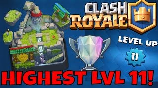 HIGHEST LVL 11 shares his BEST TIPS in Clash Royale! Miner / Hog Rider Deck Strategy