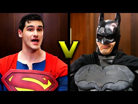 BATMAN V SUPERMAN: Super People's Court