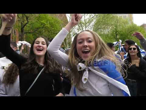 NYU Students' Israel Celebration Met By Pro-Palestinian Protests