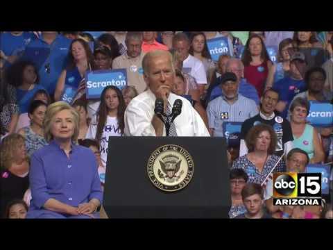 The moment VP Joe Biden turns on Donald Trump - Scranton, PA
