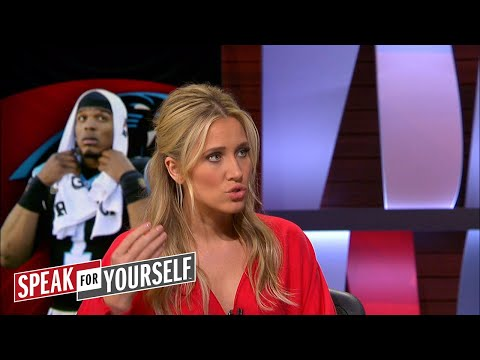 Kristine Leahy discusses Cam Newton laughing at a female reporter's question | SPEAK FOR YOURSELF