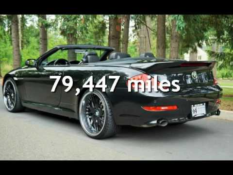 2009 bmw 650i convertible triple black 22s for sale in. Black Bedroom Furniture Sets. Home Design Ideas