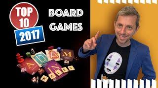 Top Ten Boardgames of 2017