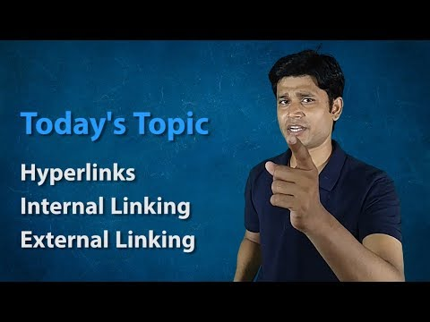 Hyperlink In HTML, Internal Linking, External Linking | Introduction Of HTML