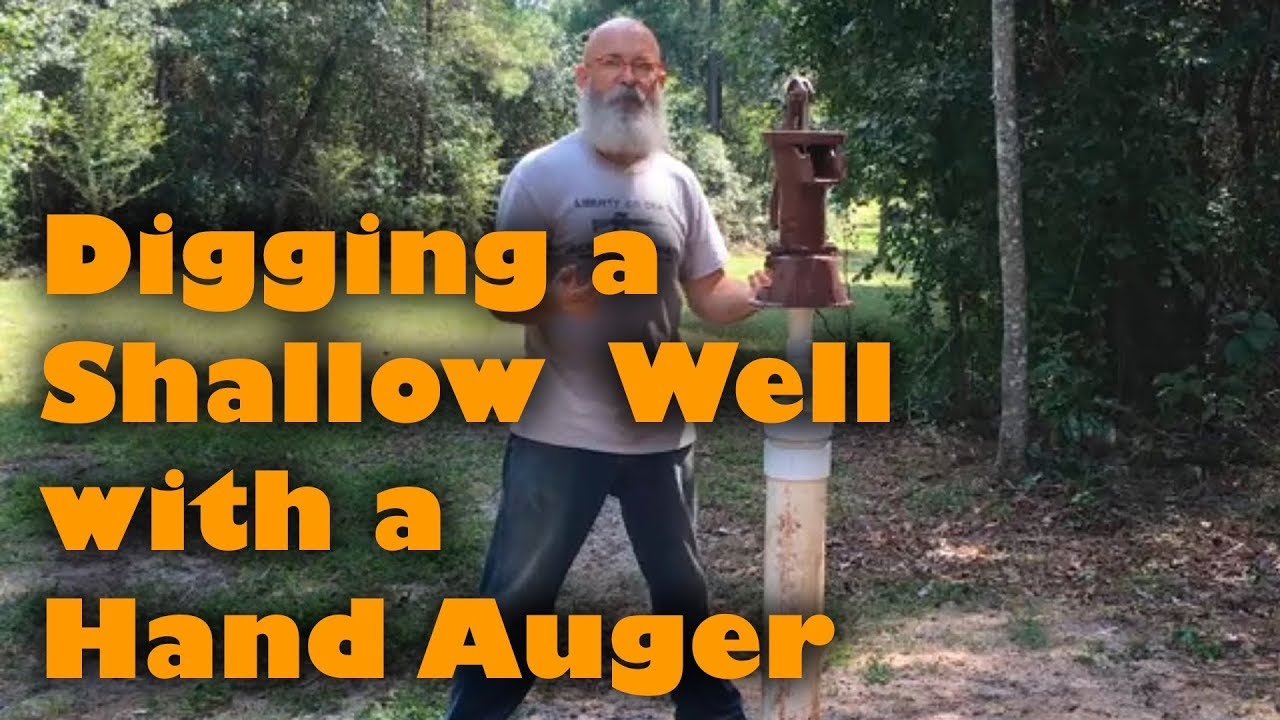 digger water well Hand auger 4inch//40ft Best auger drill partner