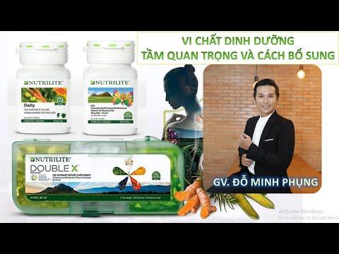 Bộ vi chất dinh dưỡng  Double X + Daily + Vitamin Cho Bé, Dinh dưỡng thiếu tiềm ẩn -GV Đỗ Minh Phụng