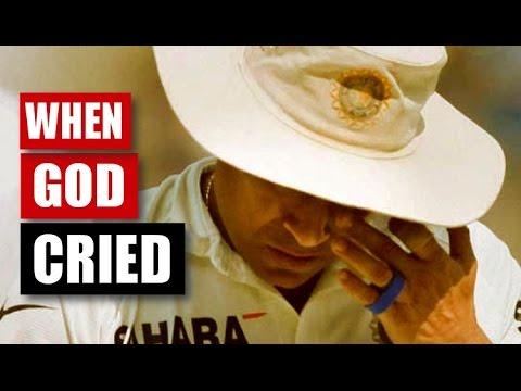 6 Times When Sachin Tendulkar Cried