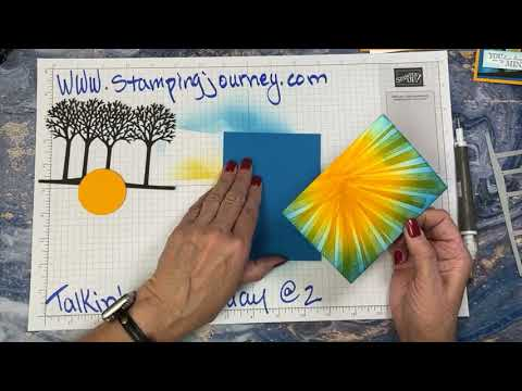 Talkin' on Tuesday @ 2 featuring the After the Storm stamp set and a bonus card!