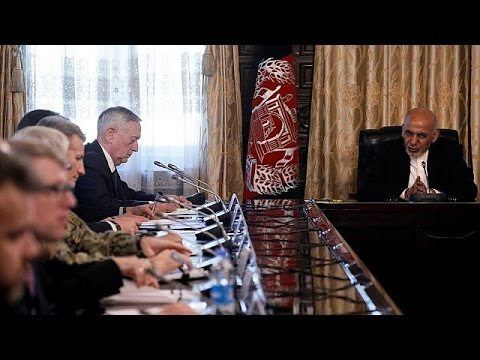 US visit to Afghanistan coincides with two high-profile resignations
