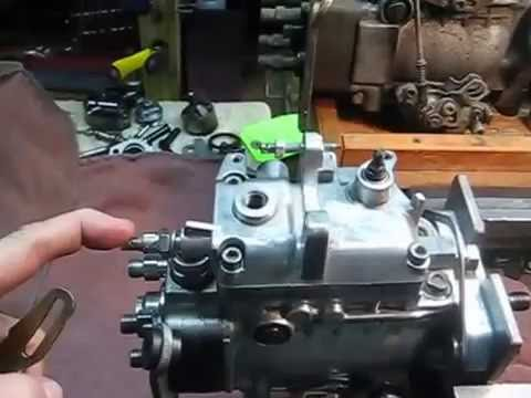 Adjusting Fuel Enrichment Screw VW Bosch VE Injection Pumps YouTube