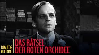"Edgar Wallace: ""Das Rätsel der roten Orchidee"" - Trailer (1961)"