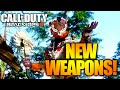 "BO3: NEW WEAPONS IN THE BLACK MARKET! - ""BANSHII"" Shotgun, ""RIFT E9"" Pistol, & NEW Melee Weapons!"
