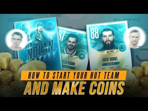 HOW TO MAKE COINS IN NHL 18 AND BOOST YOUR HOCKEY ULTIMATE TEAM!   NHL 18
