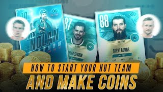 HOW TO MAKE COINS IN NHL 18 AND BOOST YOUR HOCKEY ULTIMATE TEAM! | NHL 18