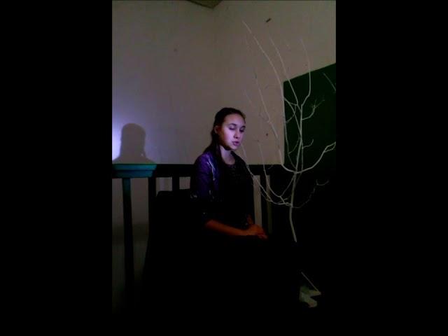 Изображение предпросмотра прочтения – ЖаннаКривоносова читает произведение «Еще вчера в глаза смотрел» М.И.Цветаевой
