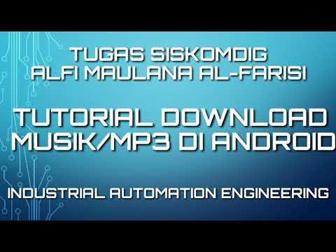 Tutorial Download Musik/Lagu Mp3 Di Handphone Android