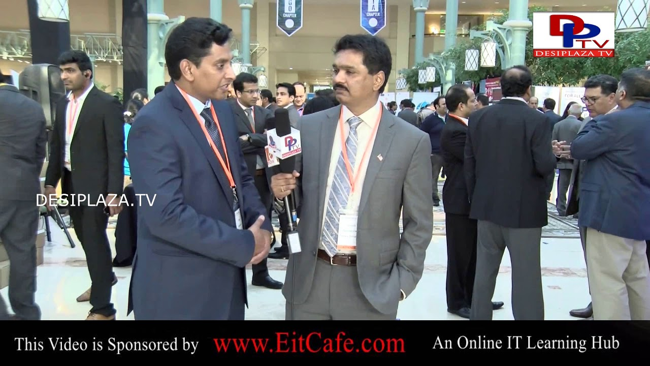 President 2017 - Satish Nannapaneni Speaking to Desiplaza TV at ITSERVE SYNERGY 2017