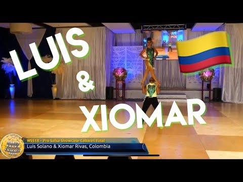 Colombia campeones  Mundiales!! LUIS & XIOMAR SALSA CABARET World salsa summit 2018