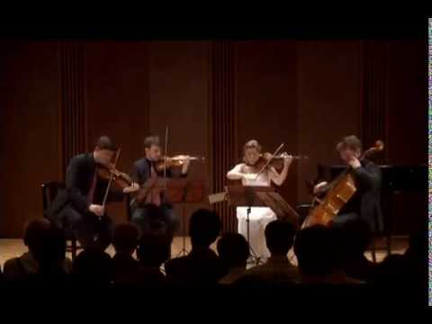 Beethoven string quartet C major op. 59/3 Razumovsky  II. Andante con moto quasi Allegretto