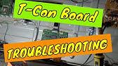 LCD TV Repair Tutorial - T-Con Board Common Symptoms & Solutions