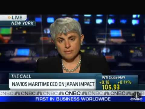 Navios Maritime Angeliki Frangou - CNBC Business