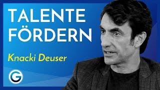 Warum es wichtig ist, Talente zu fördern // Knacki Deuser Interview