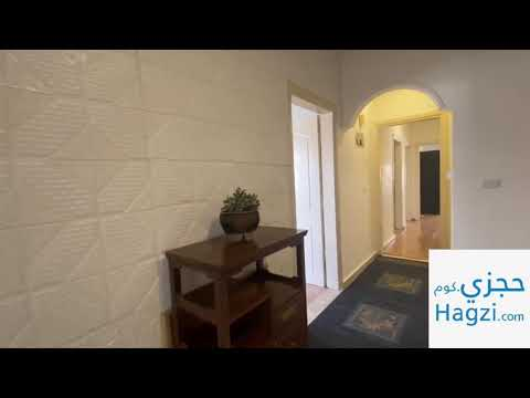 REF 13573/ furnished 2 bedroom apartment in tilaa al Ali for rent