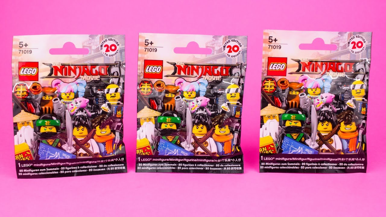 Opening Lego Ninjago Movie Mystery/Blind Pack part 4 - YouTube