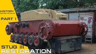 StuG III Ausf D Restoration. Part I