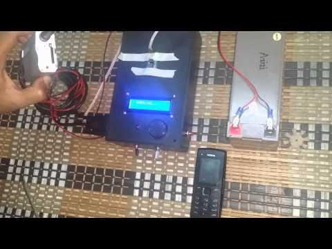 INTELLIGENT MAINTENANCE REMINDER FOR CAR USING GLOBAL SYSTEM FOR MOBILE (GSM)