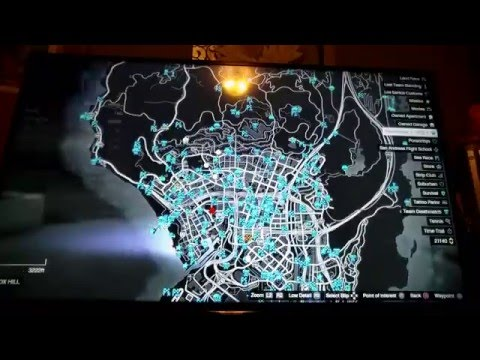 GTA 5 ONLINE - HOW TO HIDE ICONS ON MAP!