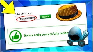 ROBLOX PROMOCODE GIVES YOU INFINITE ROBUX?! [STILL WORKING 2019]