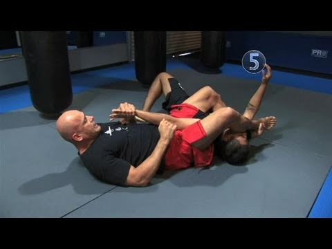 How To Perform Bas Rutten's Armbar From A Mount