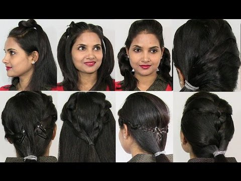 easy and cute hairstyles school