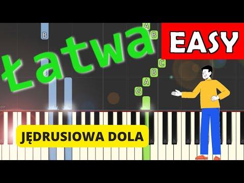 🎹 Jędrusiowa dola - Piano Tutorial (łatwa wersja) 🎹