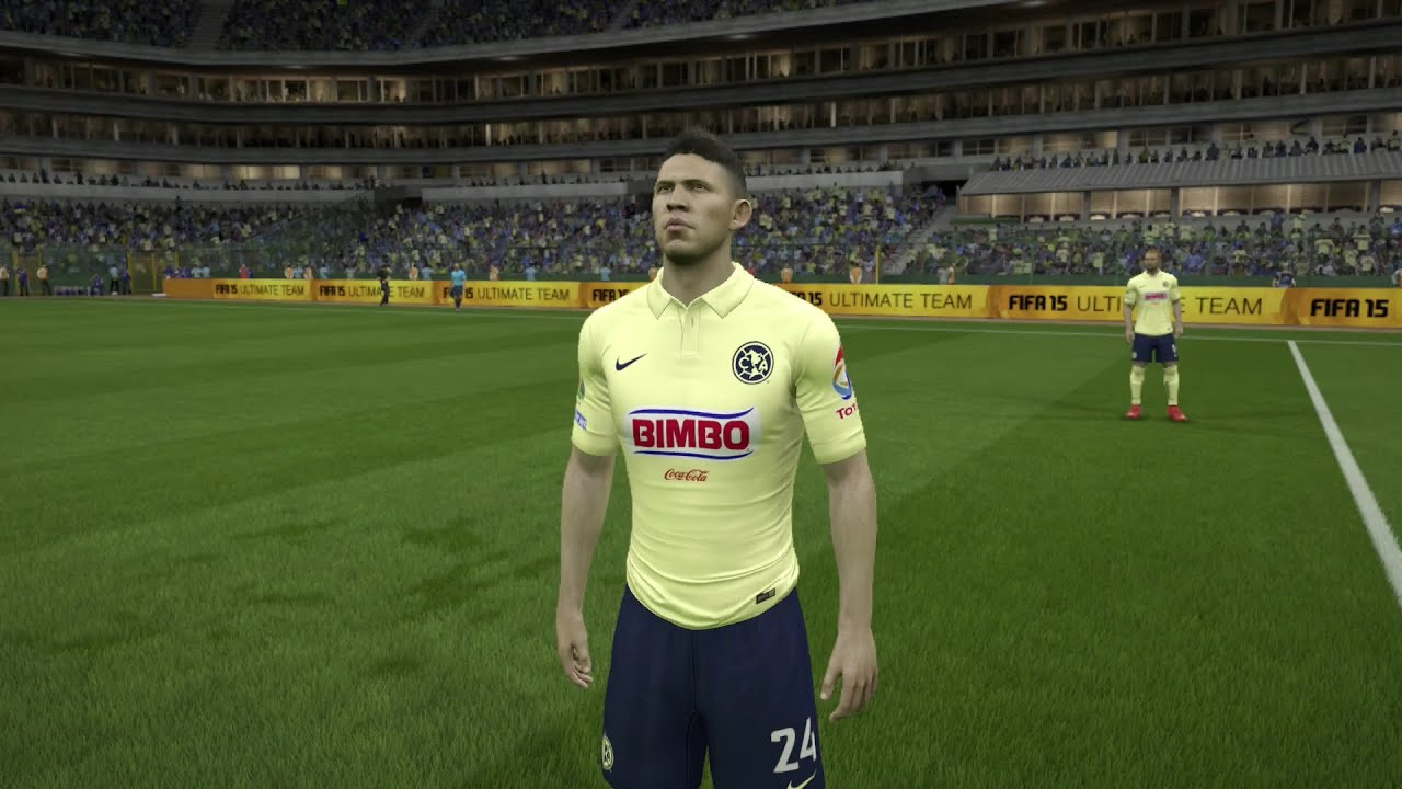 Fifa 15 Club Am 233 Rica Player Faces Next Gen Gameplay