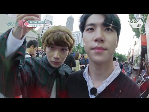 [JustBeJoyful JBJ] The happiness of Million Yen! JBJ Food Expedition in Sapporo Festival Ep.3