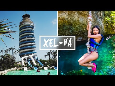 Crazy Mexican Waterpark!   XEL-HA 2018