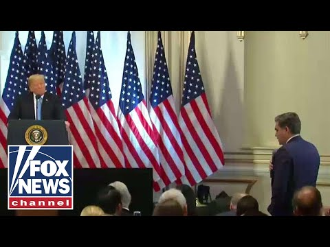 Jim Acosta asks Trump to call on a 'female reporter'