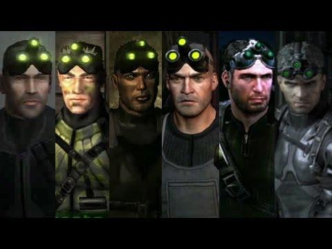Splinter Cell Blacklist VS Splinter Cell Saga | Evolucion Grafica