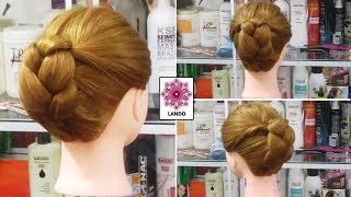 Búi tóc đẹp! Búi tóc cho mẹ cô dâu gọn gàng đơn giản Kiểu tóc thường dùng trong đám cưới ! Kiểu 39